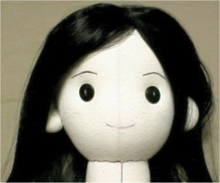 rag doll hair instructions