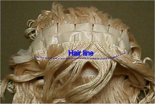 Yarn Wig Making Instructions 18