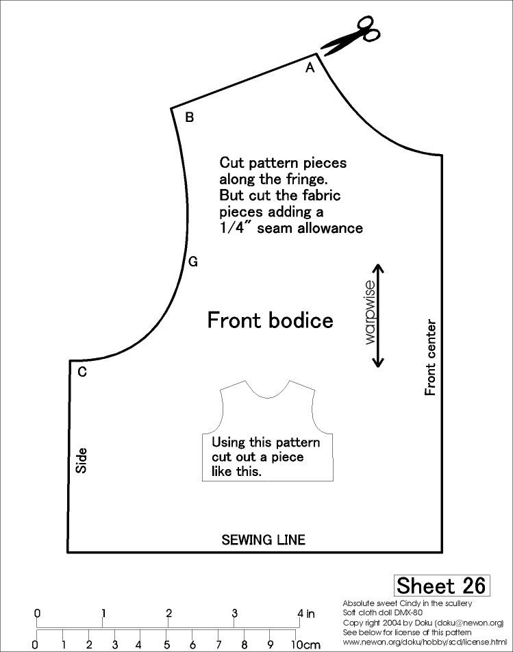 How to Draft Dress Bodice Foundation - Pattern-Making